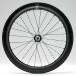 Showing rear wheel with 24 spokes