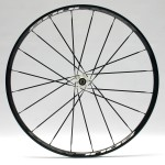 Showing front wheel with 20 spokes