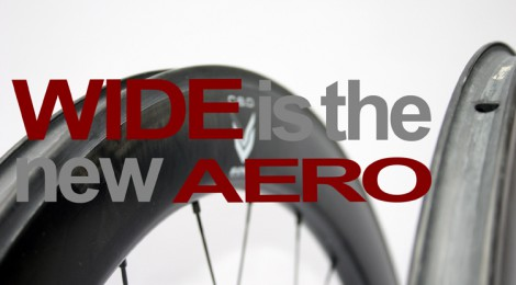 WIDE IS THE NEW AERO